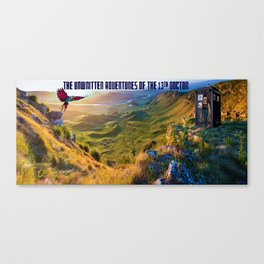 The Doctor and Dinosaur Valley Canvas Print