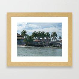 The Haitian Shore Framed Art Print
