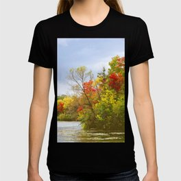Leaning into Autumn T-shirt