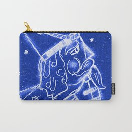 Nutcracker in Bright Blue Carry-All Pouch