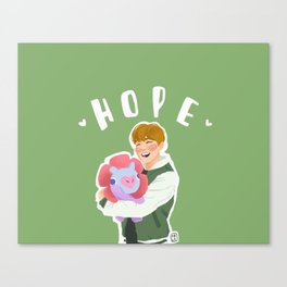 Jhope and Mang Canvas Print