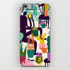 Natural Recall poster design iPhone & iPod Skin