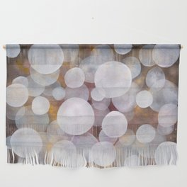 'No clear view 18' Wall Hanging