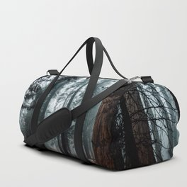 Lost in the Foggy Forest Duffle Bag