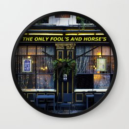 The Only Fool's and Horse's Wall Clock