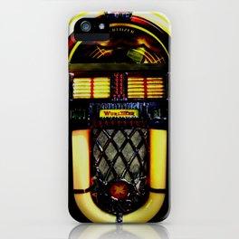 Wurlitzer Jukebox  iPhone Case