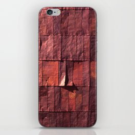 Antique Copper Wall Pattern iPhone Skin