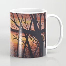 3 Visions Art Sunset Trio part 2 Coffee Mug
