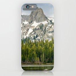 Lake Mamie, Mammoth Lakes, California iPhone Case
