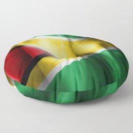 Guyana Flag Floor Pillow