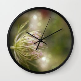 Queen anne's lace 02 Wall Clock