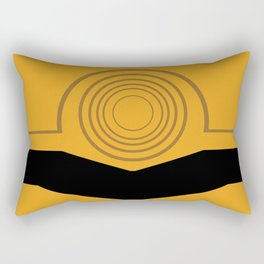 Cee-Threepio Rectangular Pillow