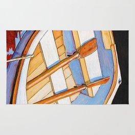 Row Boat Too Rug