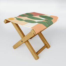 Abstract Cactus II Folding Stool