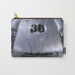 904 Carrera GTS, Silver Carry-All Pouch