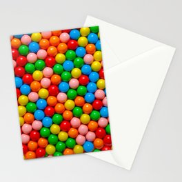 Mini Gumball Candy Photo Pattern Stationery Cards
