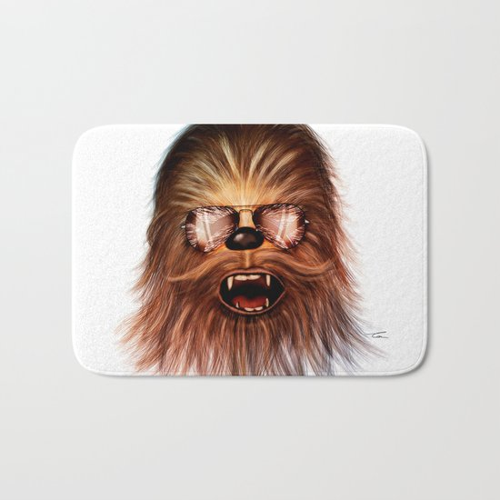 STAR WARS CHEWBACCA Bath Mat