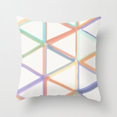 Spring in Angles Throw Pillow