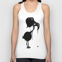 flamingo Tank Tops featuring Flamingo by NOME