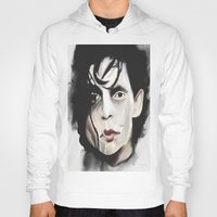 edward scissorhands Hoodies featuring Edward Scissorhands by Catheriney
