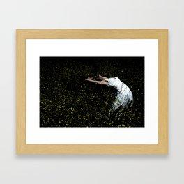 Dancer In The Field Framed Art Print