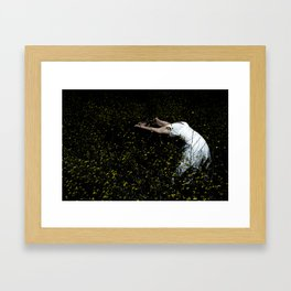 Dancer In The Field Framed Art Print