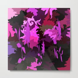 Pink Flowers for You! Metal Print