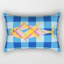 FISH STRIPES Rectangular Pillow