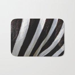 Zebra Skin Bath Mat