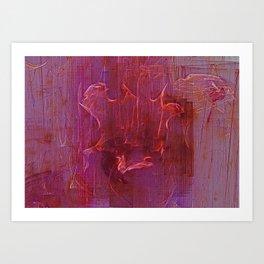 Wine Stains Art Print