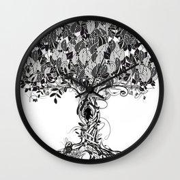 An ancient magical tree Wall Clock