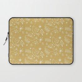 Christmas Dove Beige Laptop Sleeve