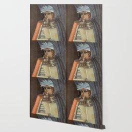 Giuseppe Arcimboldo - The Librarian Wallpaper