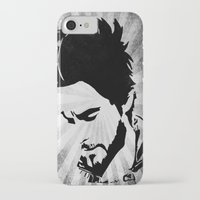 jared leto iPhone & iPod Cases featuring Jared Leto by Emma Porter