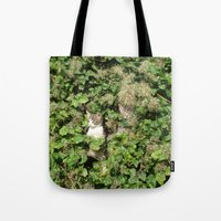 kittens Tote Bags featuring kittens by death above