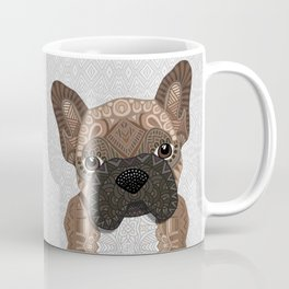Brown Frenchie Puppy 001 Coffee Mug