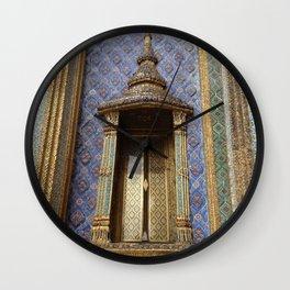 Ancient Doorway #3 Wall Clock