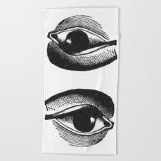 Eye 2 Beach Towel