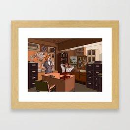 THE FBI'S MOST UNWANTED Framed Art Print