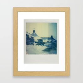 Timberline Lodge - Polaroid Framed Art Print