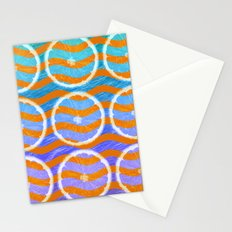 blue citrus Stationery Cards