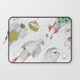 Stylish Pigeon Takeover Laptop Sleeve