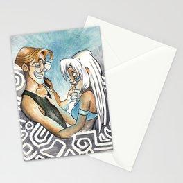 Atlantis: Milo and Kida Stationery Cards