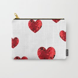 Hearty heart hearts Carry-All Pouch