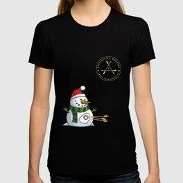 SNOWMAN - Instinctive Archery Official Patch T-shirt
