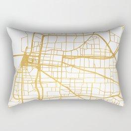 MEMPHIS TENNESSEE CITY STREET MAP ART Rectangular Pillow