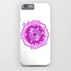 Butterflies and kaleidoscope in pink Slim Case iPhone 6s