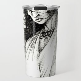 Does time grow limbs, cousin? Travel Mug