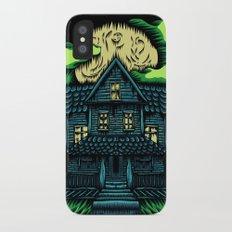 Haunted House iPhone X Slim Case