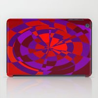 panic at the disco iPad Cases featuring Panic by NaturePrincess